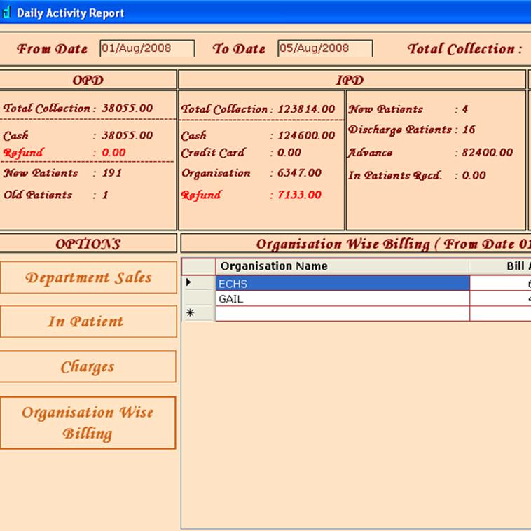 HMIS Software | MIS REPORTS | Hospital Management